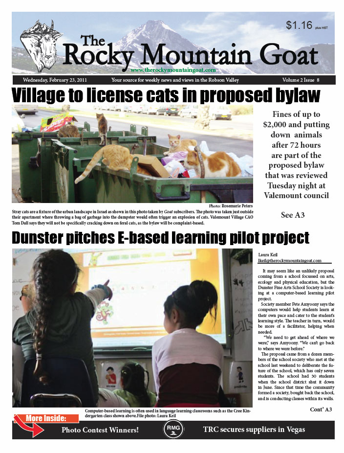 Welcome Subscriber! Click here for the Feb. 23rd issue of the Goat