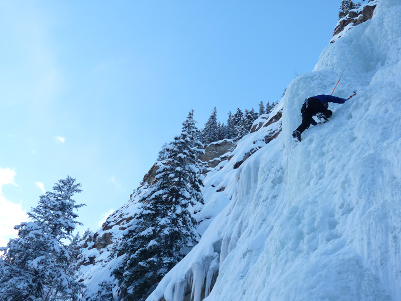 Ice climbing Tête Canyon VIDEO + GALLERY
