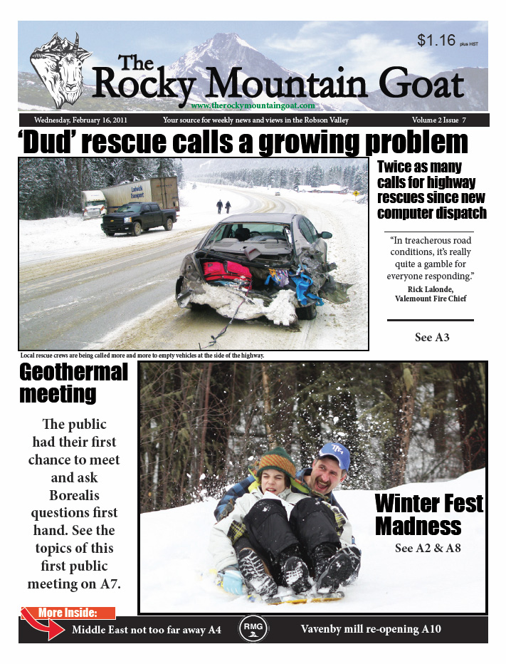 Welcome Subscriber! Click here for the Feb. 16th issue of the Goat