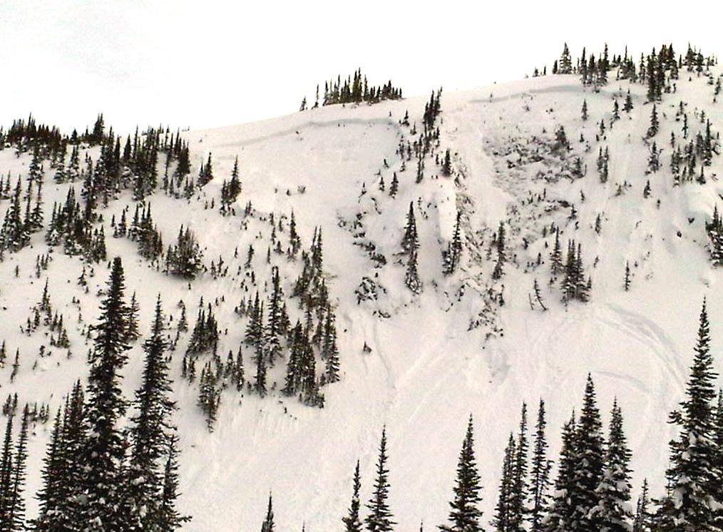 Avalanche! McBride man survives 7-foot burial