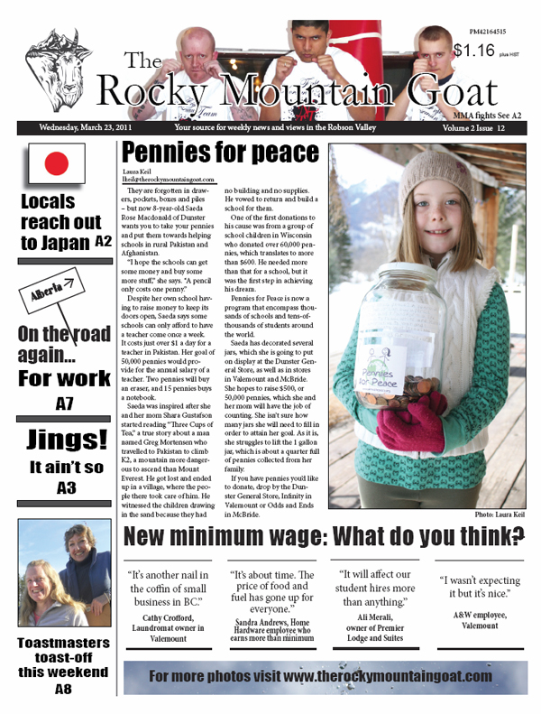 Welcome subscriber! Click here for the March 23rd issue of the Goat