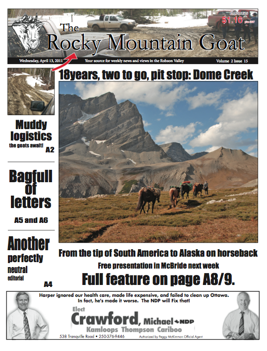Welcome Subscriber! Click here for the April 13th issue of The Goat