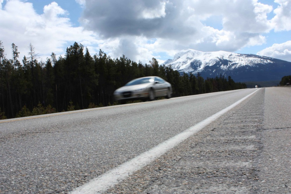 hwy highway speed drive car