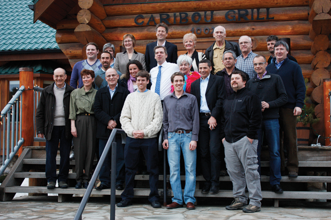 Toward the alpine: Ski Society hosts French ski experts, Simpcw, project planners