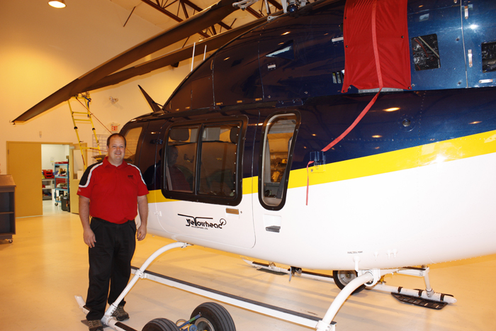 Yellowhead Helicopters gets first twin-engine