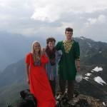 Balroom dress hike