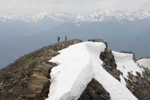 The Premier Mountain Range as seen from Swift Mountain.