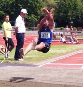 Omar Long Jump