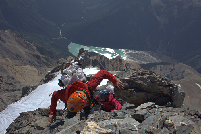 Breaking the Wishbone: climbers uncover 1951 relic- Video included