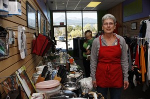 Linda Gunderson bargain store valemount mountain thrift BC