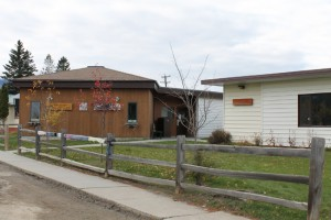 The existing location of the McBride and District Library and Museum