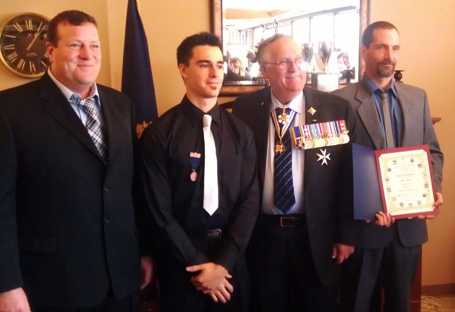Three Valemount residents awarded for bravery