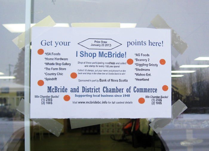 "McBride's ""shop local"" campaign goes big"