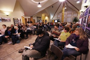 The first Community Conversations in 2012