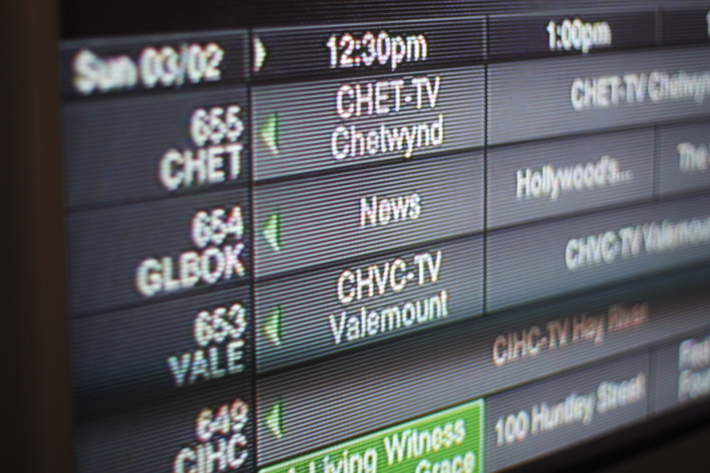vctv satellite valemount tv