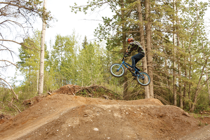 Mountain bike trails get green light in McBride