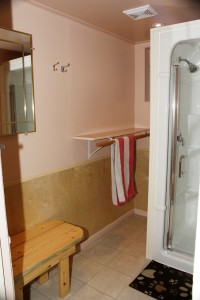 Dunster fine arts school shower renovations camping