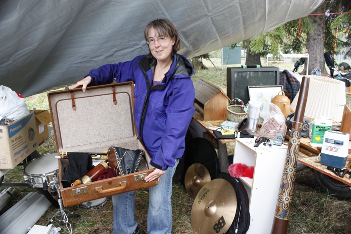 The wonderful, wacky world of Dunster's Mother's Day garage sale