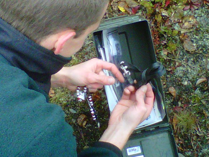 geocaching Valemount trinket box