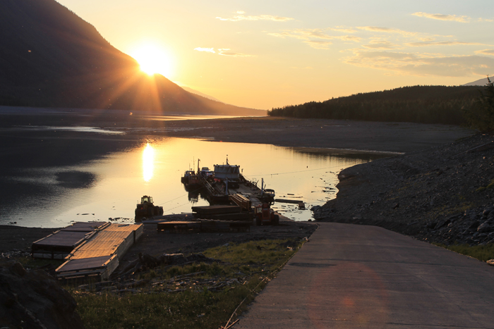 Robson Valley, Mica 5 Turbine, Valemount Marina, Mica Dam, Kinbasket Reservoir, BC Hydro