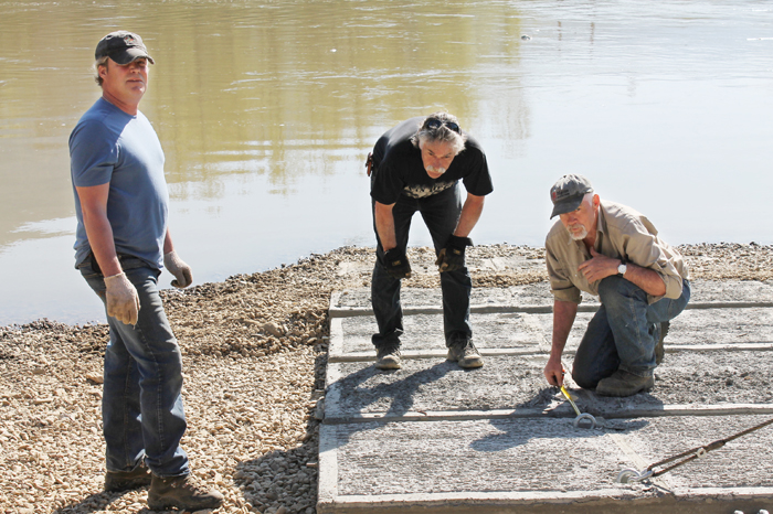 McBride's Gagliardi Park boat launch nears completion