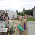 mcbride, robson valley, british columbia, pioneer days, parade