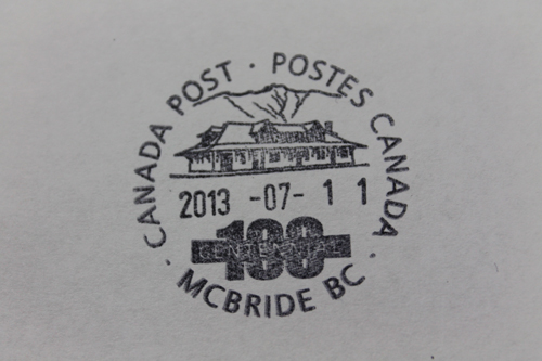 Canada Post cutting hours in McBride