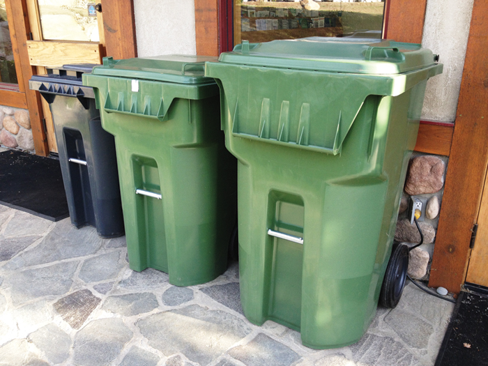 Small business exempt from new recycling regs