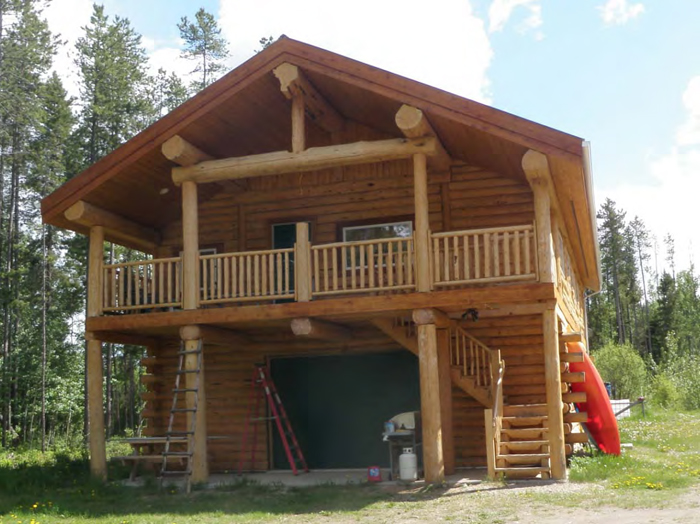 Tete-Jaune, Tete-Jaune cache, Robson Valley, tourist accommodation