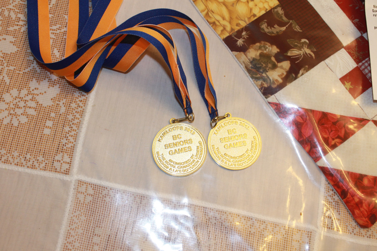 Louella Long, BC Seniors Games, Kelowna, pickleball