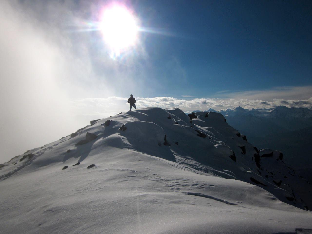 A (near) summit of Swift Mountain