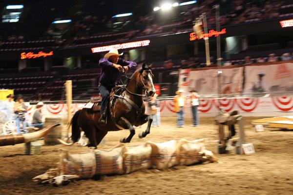 Tom Ryan, Pro Extreme Cowboy race,