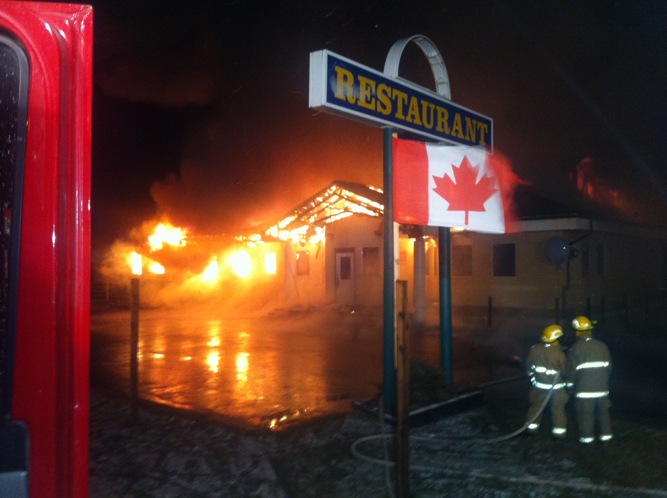McBride restaurant burns down just shy of re-opening