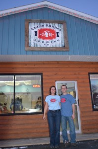 Three Ranges Brewery, michael lewis, 5th avenue, valemount business, local business