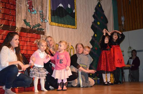 Dunster, Dunster School Community Christmas Concert, concert, children, play, theater