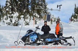 clemina, varda, snow mobile, avalanche, avalanche testing, avalanche technology