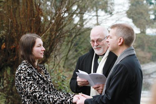 andrew mccracken, laura keil, wedding, marriage, vows, ceremony