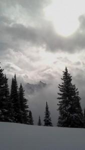 cat, cat skiing, cariboo snowcat skiing, terri cinnamon, extreme skiing, snow, moutainside