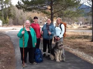 walk around the world, walking, walk, exercise, holly blanchette, adele ford, debbie strang, heather whalen