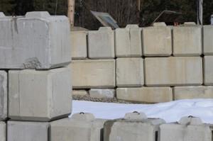 concrete, yard, construction, building, building material