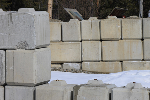 concrete, yard, construction, building, building material