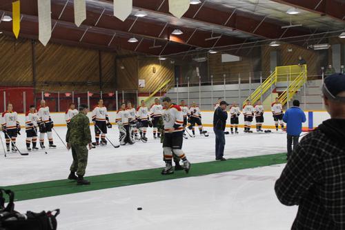 McBride hosts Maniac Ladies, armed forces hockey tournaments