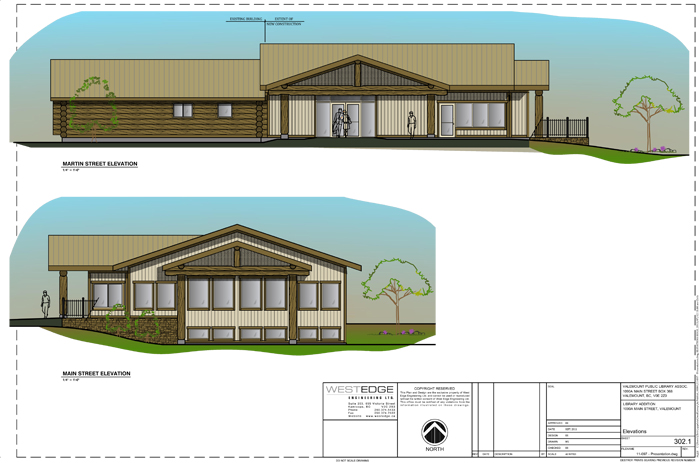 library, valemount library, expansion, expansion plan, plans, blueprint