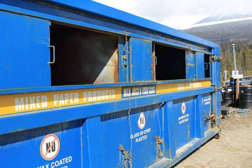 recycle, recycling, bin, dumpster, depot