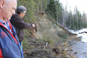 swift creek bank restoration bruce wilkinson mike wallis