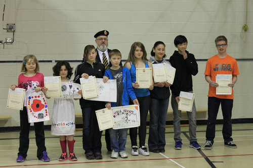 Students recognized in provincial competition