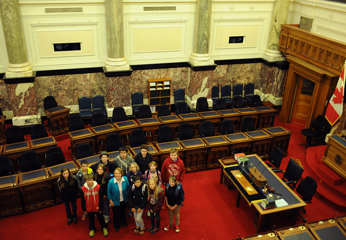 Valemount kids see government in action