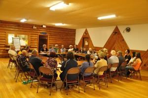 Dunster Community Assoc. Meeting UNBC speaker (1)