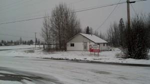 Future site of the Petro Canada station in McBride.