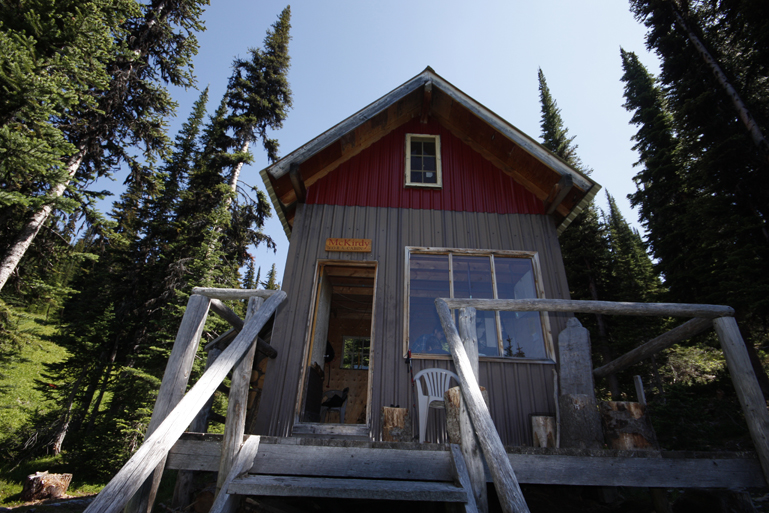 Valemount's McKirdy hut climb